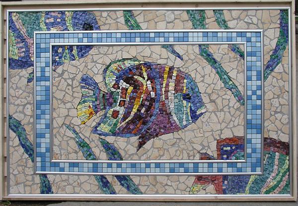 Мозаичное панно своими руками